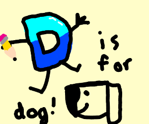 D is for Dog (Which is backwards for God)