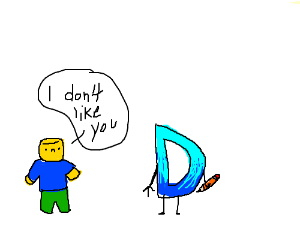 Noob doesn't like Drawception D