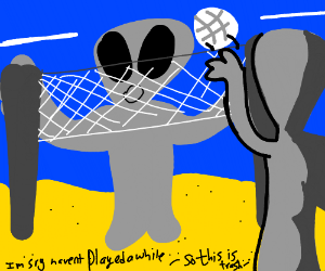 Alien Volleyball Championships