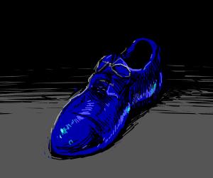 Blue Dress Shoe