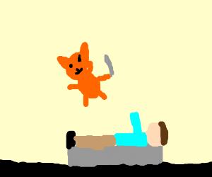 John from Garfield is getting sacrificed