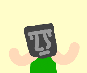 Person With Island Head