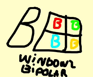 Bipolar windows logo
