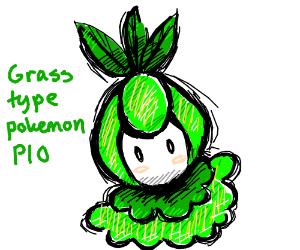 Grass Type Pokemon Pio Drawing By Zeroone Drawception