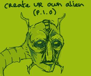 Create your own alien (PIO)